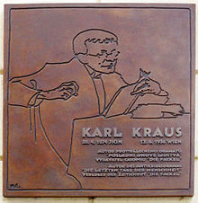 Karl Kraus Citations
